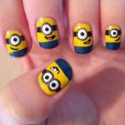 hilarious and nerdy nail design