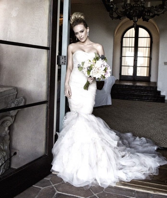 The Best and Worst Celebrity Wedding Dresses of All Time  Oh Dear Mariah