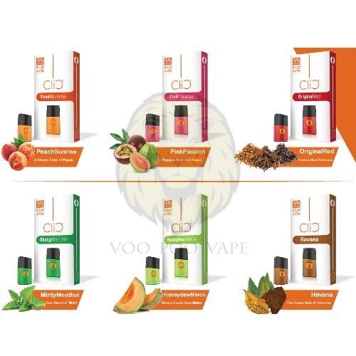 CLIC Salt Nic Oily Cartridge 4pcs/pack