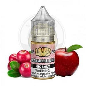 Cran Apple Juice Nic Salt By Loaded