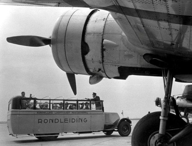 KLM Rondleiding in de 30-er jaren