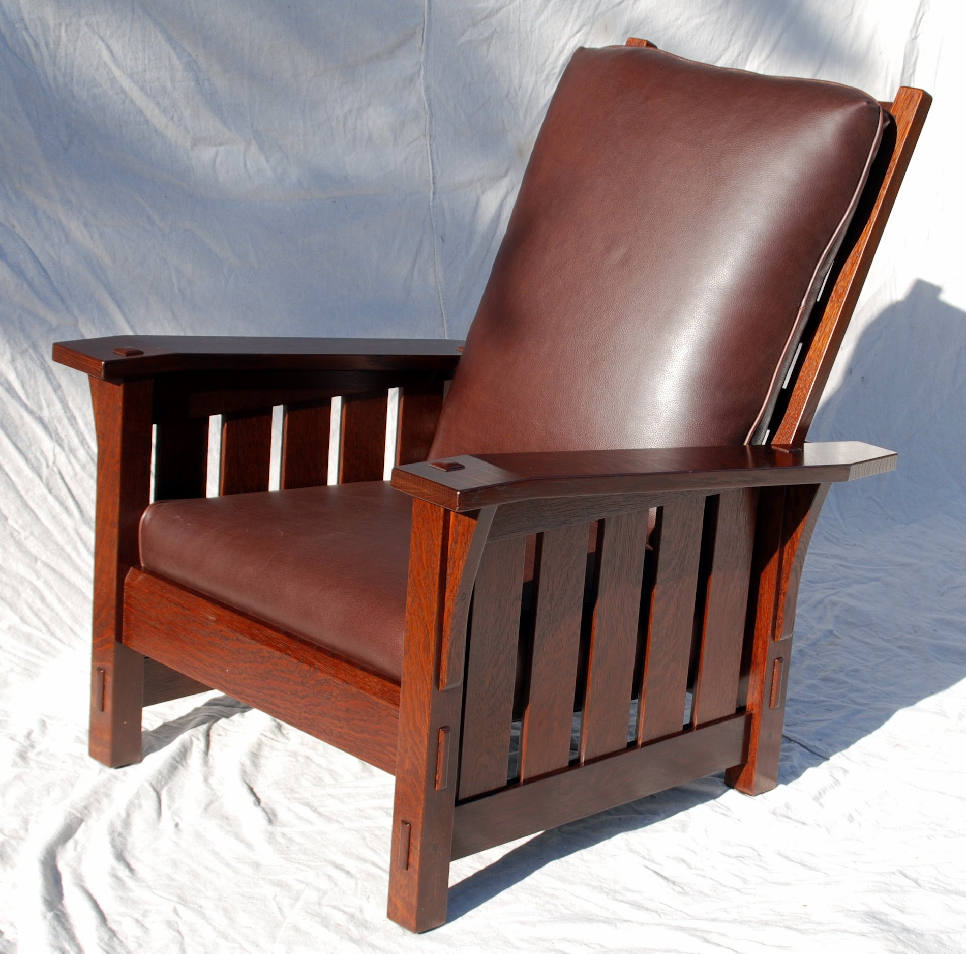 Stickley Chair Voorhees Craftsman Mission Oak Furniture Gustav Stickley