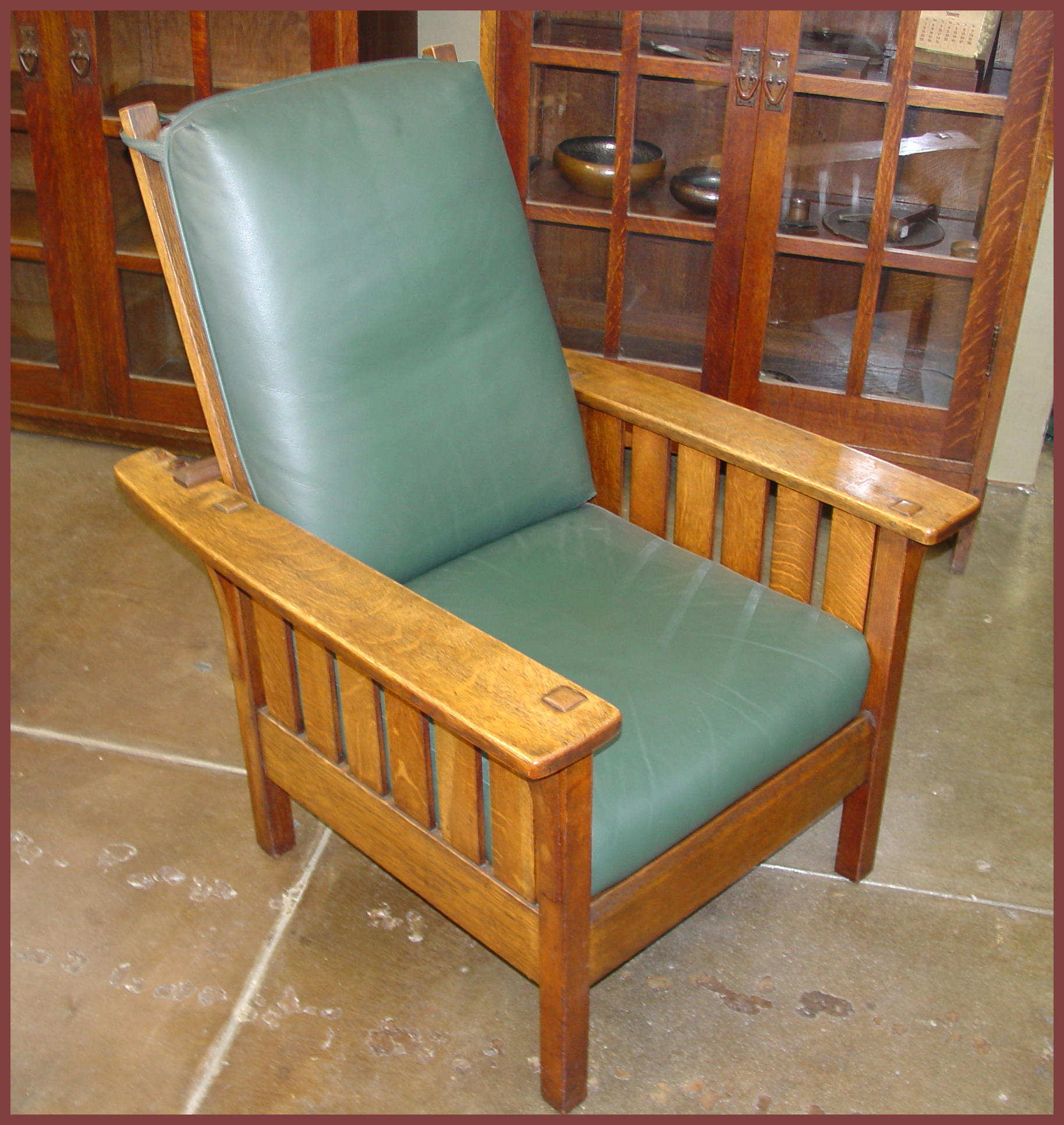 Morris Chairs Voorhees Craftsman Mission Oak Furniture L And J G