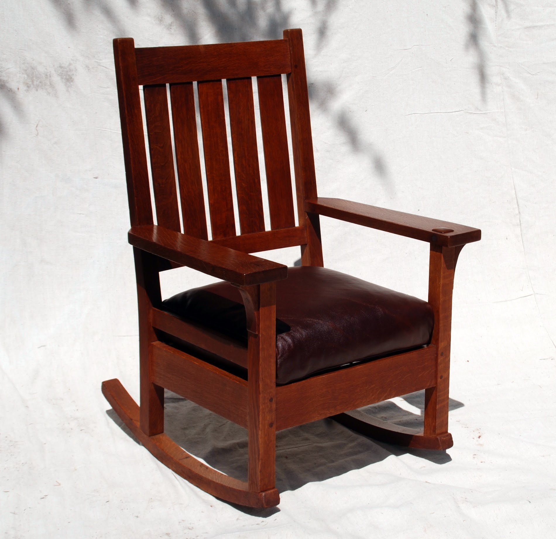Stickley Chair Voorhees Craftsman Mission Oak Furniture Early Gustav