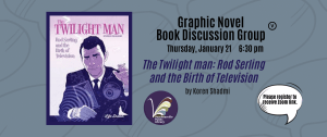 Adult Graphic Novels Book Discussion. 21.1