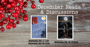 December Book Discussion Groups