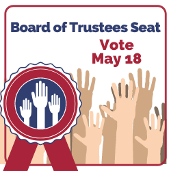 Board of Trustees Open Seat Vote. May 18, 2021