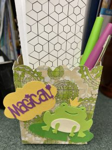 Creativity Lab. Make a Frog Prince Notecard Holder and Shrinky Dink Monograms
