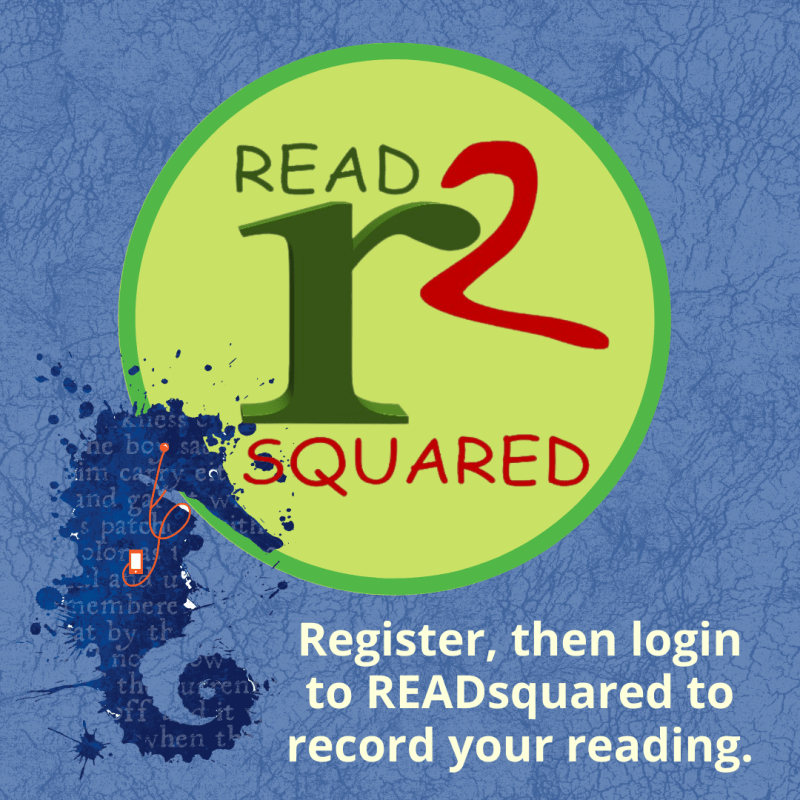 Register, then login to READsquared to record your reading.