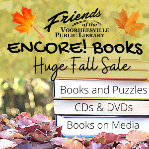 Friends of the Voorheesville Library Encore Books Fall Sale