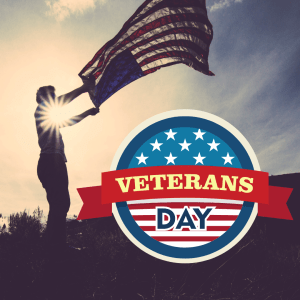 The Library is Closing at 5 PM for Veterans Day