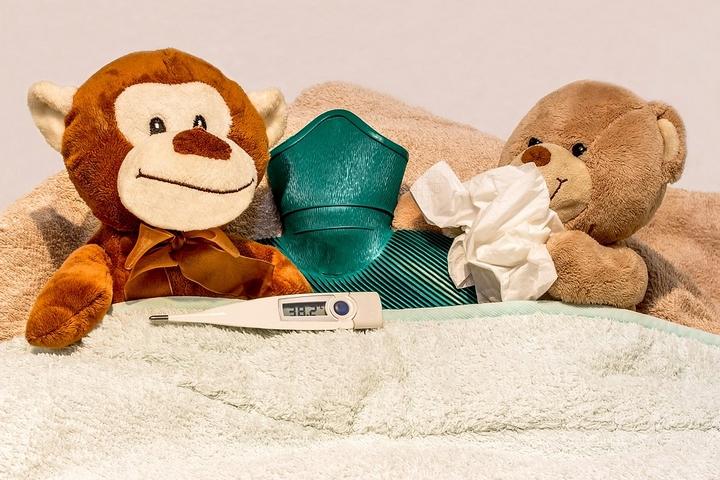 verkoudheid baby's