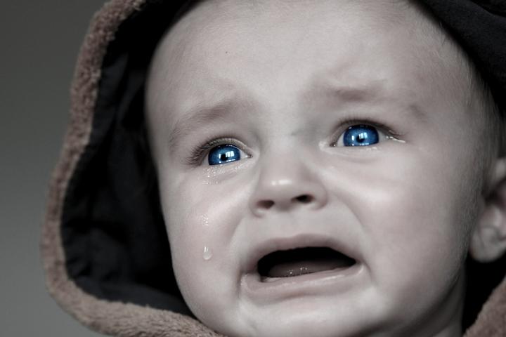 baby huilen