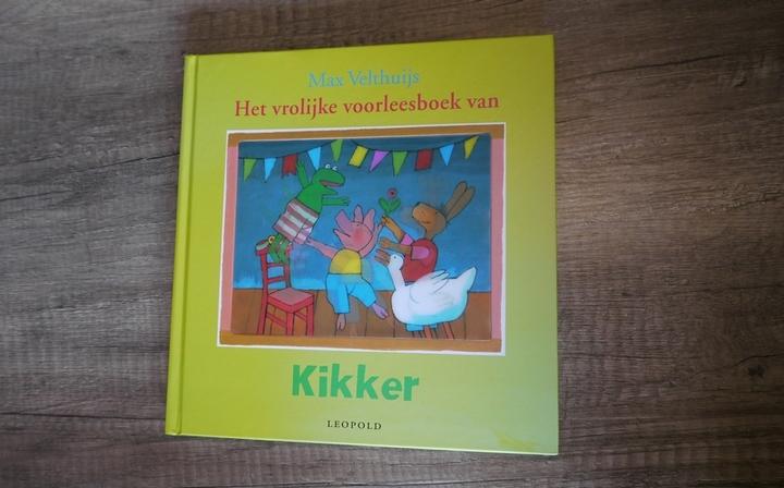 vrolijke voorleesboek kikker