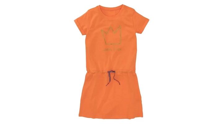 oranje jurkje