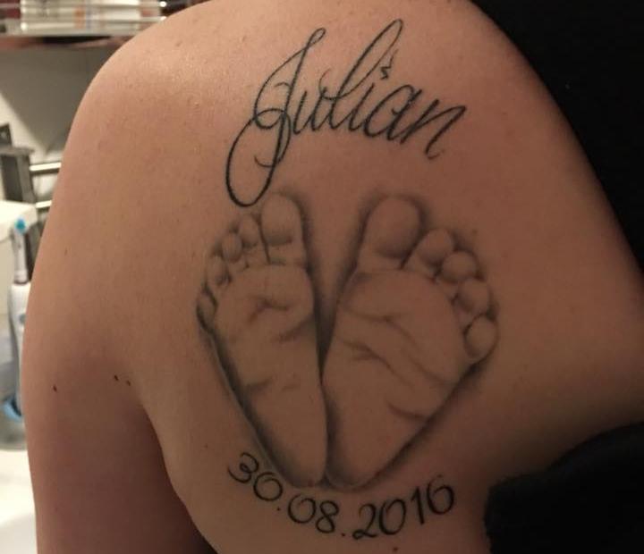tattoo voeten