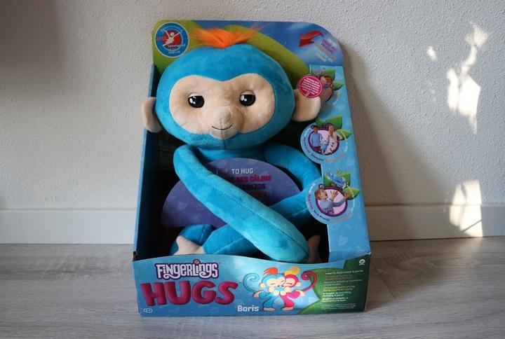 Winnen Fingerlings Hugs Boris Interactieve Knuffel