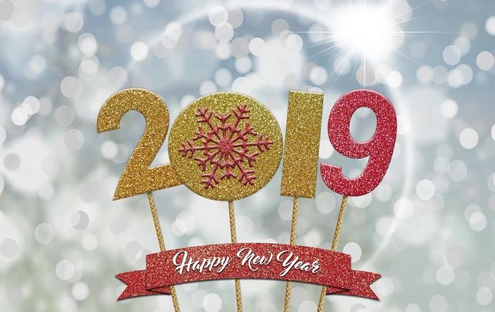 gelukkig nieuw jaar 2019