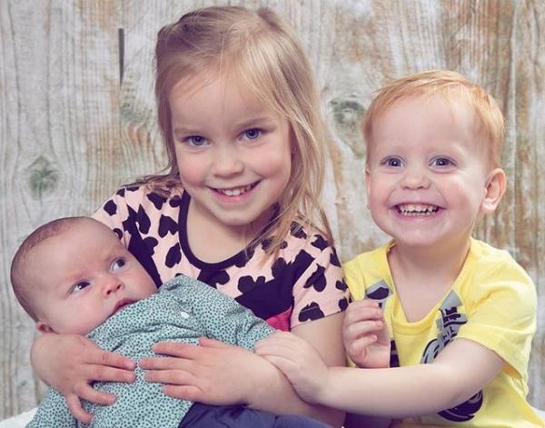 drie kinderen