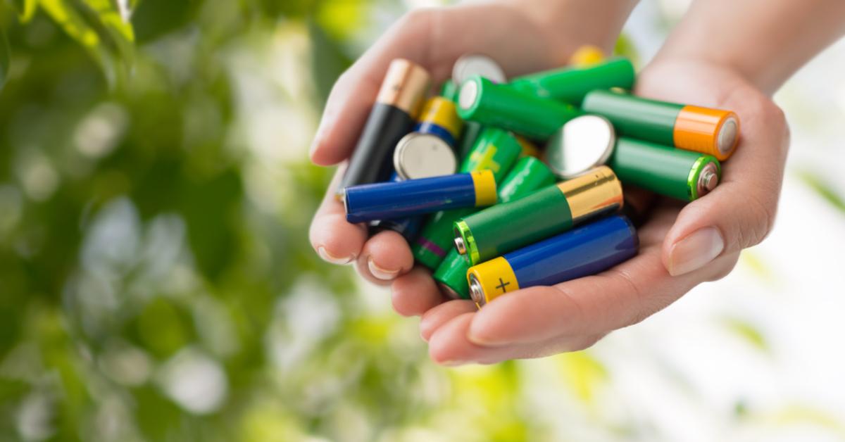 Lege batterijen zitten nog vol bruikbare metalen