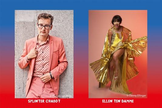 Verschilmakers kleuren 4 en 5 mei in Wageningen45 LIVE
