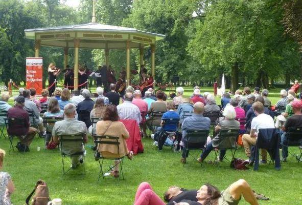 Gratis concerten op het Worpplantsoen te Deventer!