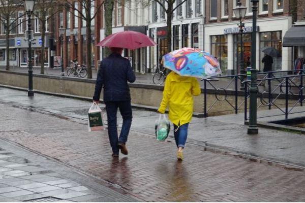 Dit weekend regen en wind, maar ook droge dagdelen