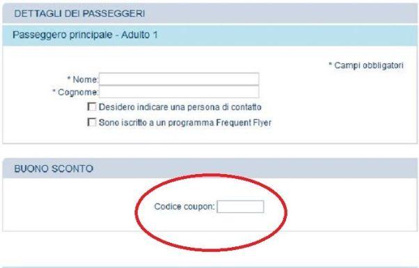 codice coupon Travelgenio