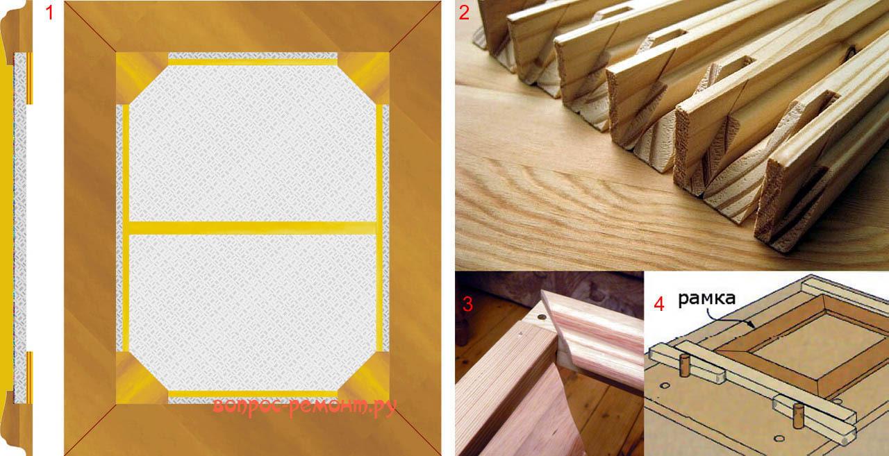 Design traditionnel de cadre coûteux pour la peinture