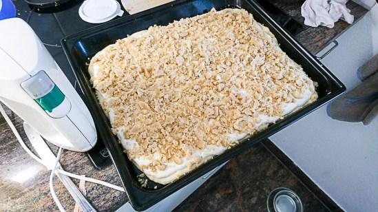 und das zweite Backwerk ist auch fertig für den Ofen