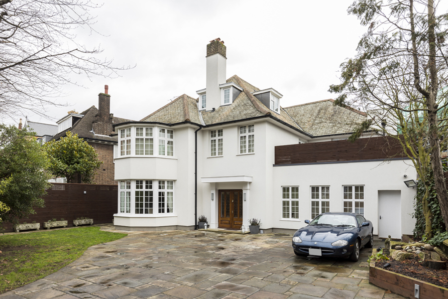 Detached house in St Johns Wood NW8 London project by VORBILD Architecture