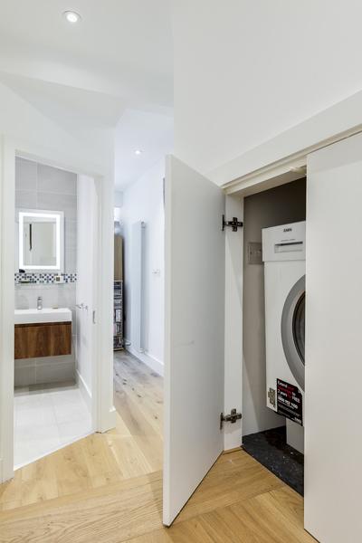 0227 - Side extension to ground floor apartment in Kilburn-vorbild-architecture-hgarden-flat-kitchen-bathroom-queens-park--27