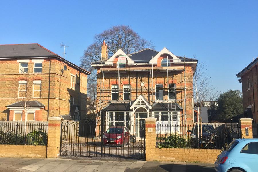 0431 - Refurbishment and large contemporary extension in Teddington vorbild-architecture-22