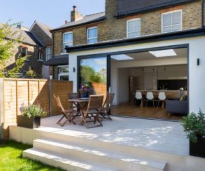 0558 Rear extension in Surbiton