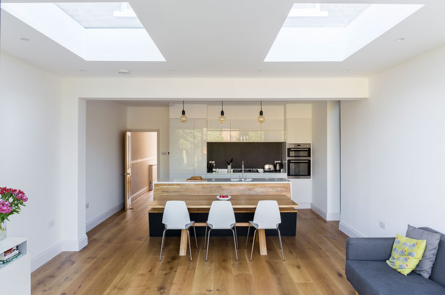 0558 kitchen diner and living room rear extension in London