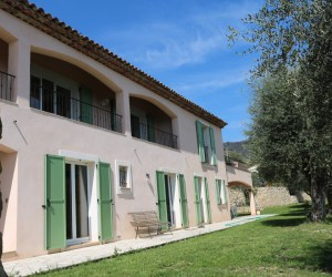 02504 Extensions and refurbishment to detached house near Grasse, South of France