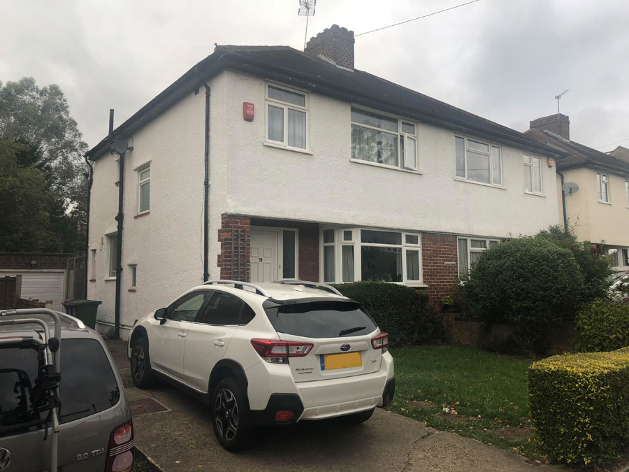 0906 Complete refurbishment and extensions to Pinner semi detached