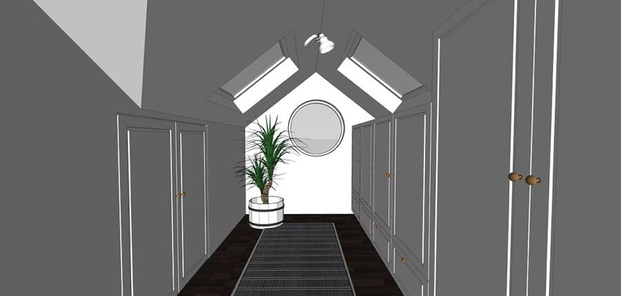 dressing room loft maisonette