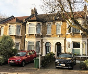 0936 Terraced house refurbishment in Leytonstone