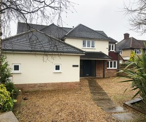 0993 Garden extension to a detached house in Croxley Green