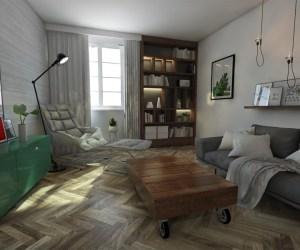 02501 Appartement dans le centre de Nice donnant sur la Promenade des Artes