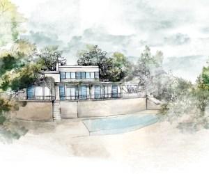 02507 Maison familiale avec piscine à Peymeinade, Sud de la France