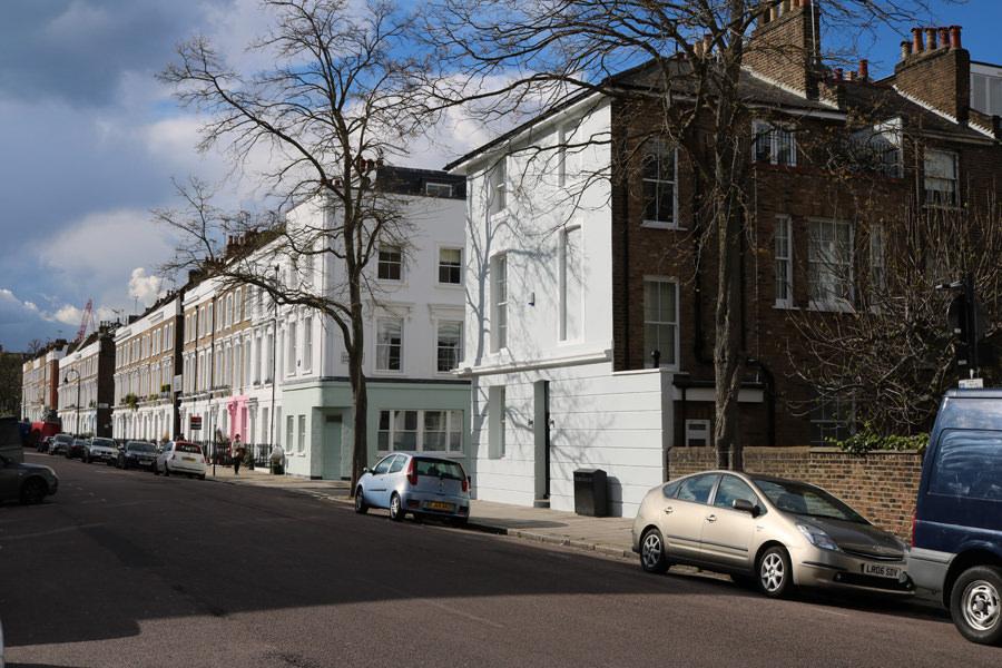 0669-Ancien  pub convertit en une maison familiale à Primrose Hill