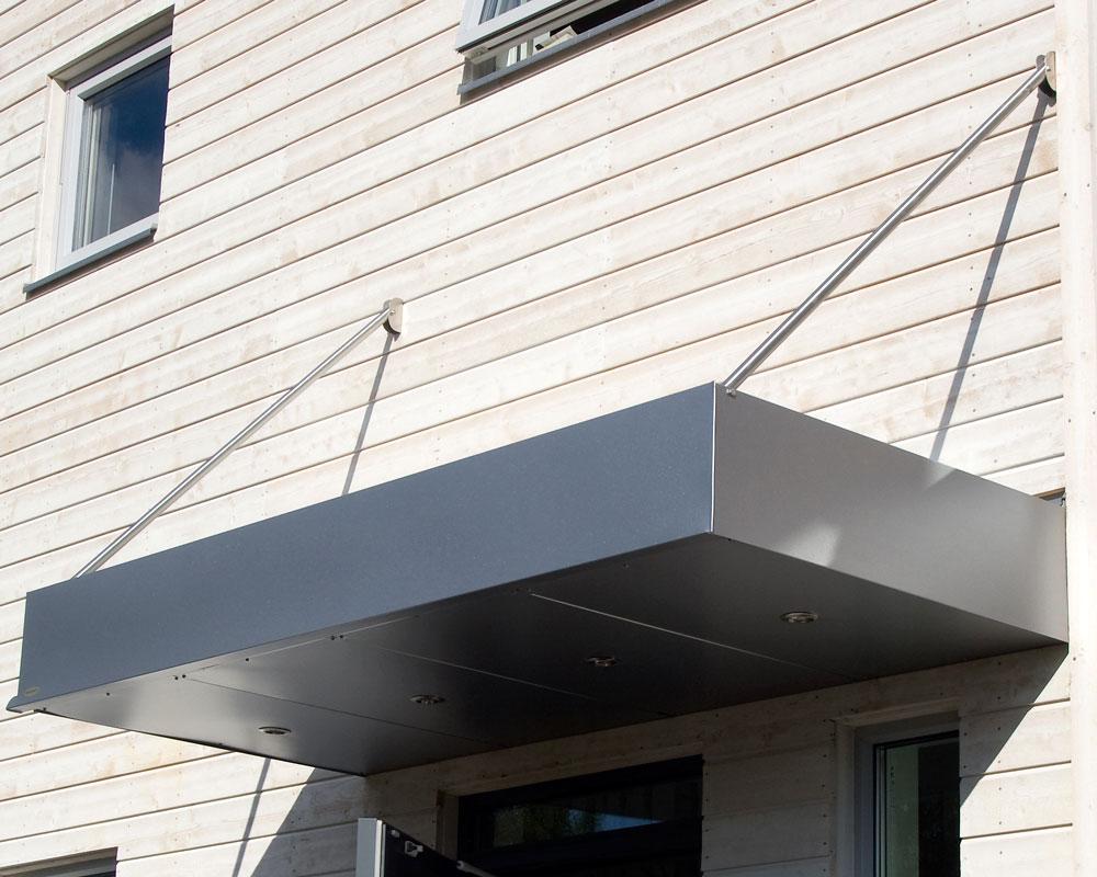 Aluminium Vordach Box Modern Classic