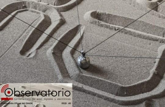 AEMA en la Revista del Observatorio Iberoamericano de Artes digitales y Electrónicas