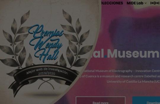 """MideCiant ganador en los premios """"Wendy Hall"""" a la mejor web"""
