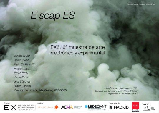 EX6, 6ª muestra de arte electrónico y experimental