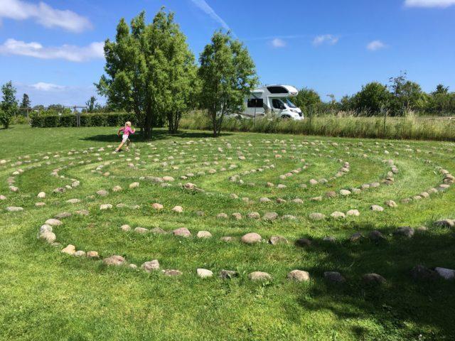 Kalvehave labyrintpark - hjernegymnastik for hele familien