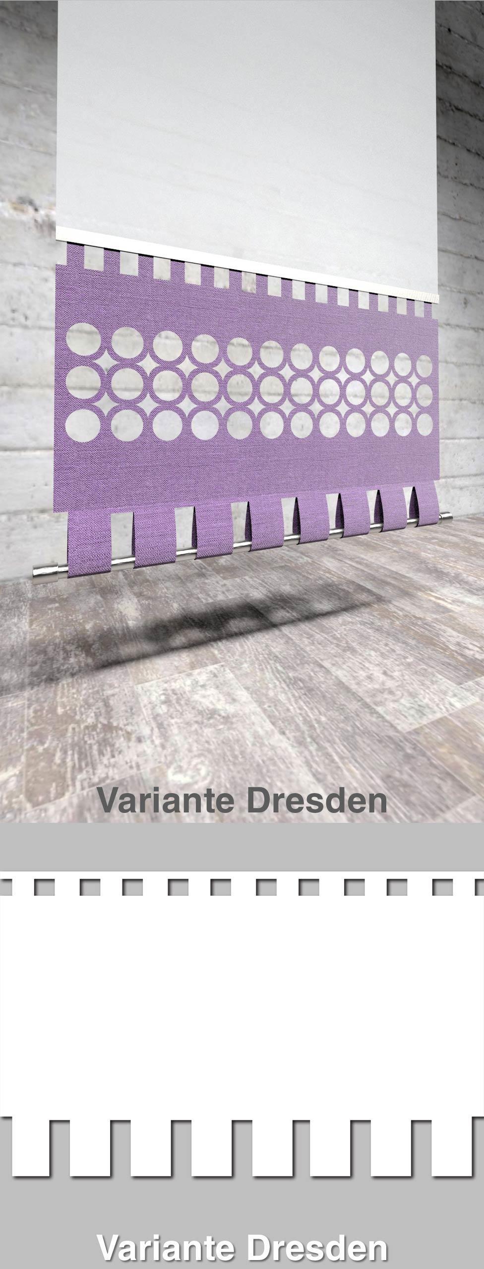 Moderner Flächenvorhang Lasercut Woerell