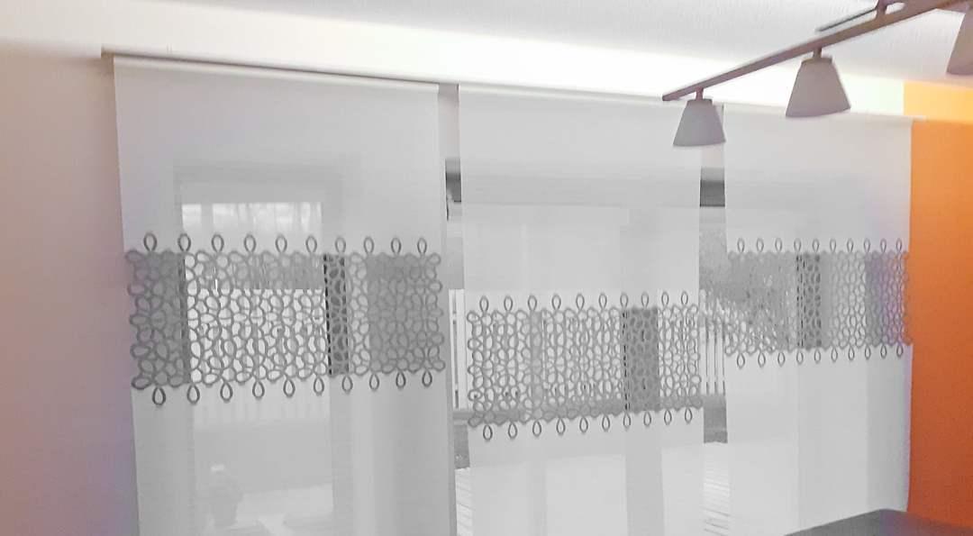Variante Potsdam Flächenvorhang Lasercut 100 cm breit